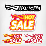 Price reduction tags. Hot Sale concept Royalty Free Stock Photos