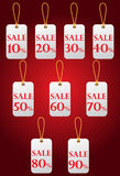 Price Sale tags Royalty Free Stock Images