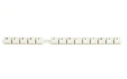 Price from scattered keyboard keys on white Royalty Free Stock Photo