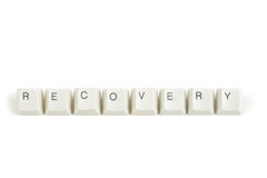 Price from scattered keyboard keys on white Stock Photo