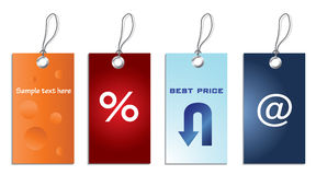 price specialetiketter royaltyfri illustrationer