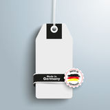 Price Sticker Label Made In Germany. Price sticker with label and text Made in Germany Royalty Free Stock Photography