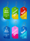 Price tab Royalty Free Stock Images