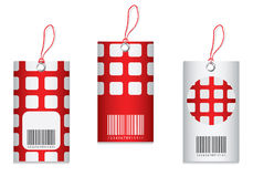 Price tag. With special design Stock Photography