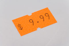 Price tag Royalty Free Stock Photos