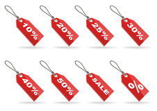 Price tag. A vector set of price tags Stock Photo