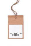 Price tag with barcode Stock Photos