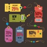 Price tag. Stock Image