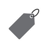 Price tag icon Royalty Free Stock Photography