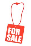 Price tag isolated Royalty Free Stock Photo