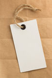Price tag label at paper. Texture Royalty Free Stock Photo