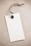 Price tag label at paper texture Stock Image