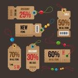 Price tag. Stock Photo