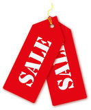 Price tag season of sale. Stock Photography