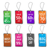 Price tag vector Royalty Free Stock Photo