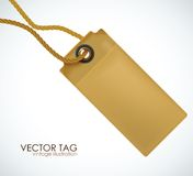 Price tag. Vector illustration. Royalty Free Stock Photography