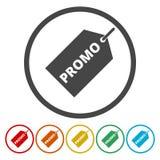 Price tag vector - promo icon vector illustration