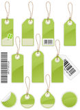 Price tags. Set of Price tags in different shapes Royalty Free Stock Photography