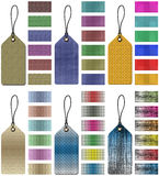 Price tags. Set of assorted price tags for marketing and advertisement Royalty Free Stock Photos