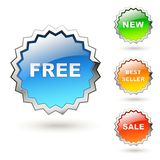 Price tags Royalty Free Stock Photography