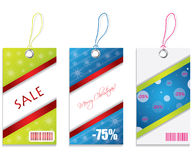 Price tags. With special design Royalty Free Stock Photography