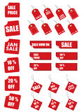 Price tags stock image