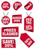 Price tags Stock Photo
