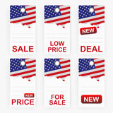 Price tags Royalty Free Stock Image