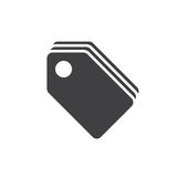 Price Tags icon , sale labels solid logo illustration, pic Stock Image