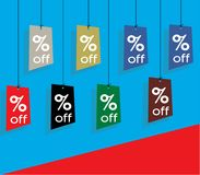 Price Tags, Lables, Discount, Offers royalty free stock images