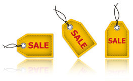 Price tags for Sale Royalty Free Stock Images