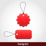 Price tags set 2. 3D Price tags set 2. Vector illustration for your design Stock Photos