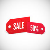 Price tags set. 3D Price tags set Vector illustration for your design Royalty Free Stock Images