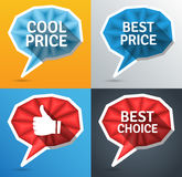Price tags Stock Photography