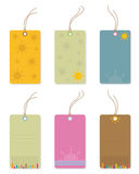 Price tags for summer. Stock Image
