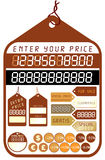 Price Tags - Vector royalty free illustration