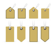Price tags. Vector Royalty Free Stock Photography