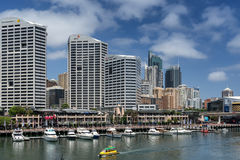 Price Waterhouse Coopers Sydney on Darling Harbour Royalty Free Stock Photos