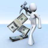 Price of Work Royalty Free Stock Photo