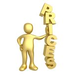 Prices Stock Photography