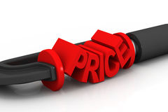 Prices concept Stock Photography