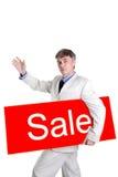 Prices go away Royalty Free Stock Photos