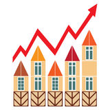Prices for real estate Stock Images