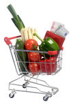 Prices for vegetables Royalty Free Stock Photo