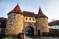 Prichsenstadt miasto Zdjęcie Stock