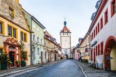 Prichsenstadt miasto Obrazy Stock