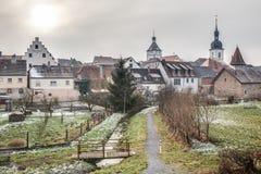 Prichsenstadt miasto Zdjęcia Royalty Free