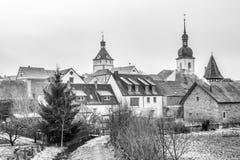 Prichsenstadt miasto Obrazy Royalty Free