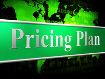 Pricing Plan Means Proposal Procedure And Idea Royalty Free Stock Photo