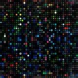 Prickar färgade psykedeliskt Arkivfoton